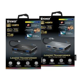 圖片 XPower Legend Transformer LT1 Multifunction HDMI PD Hub